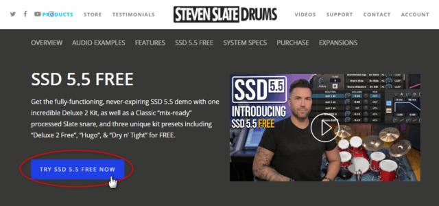 SSD 5.5 FREE のダウンロードへの入り口