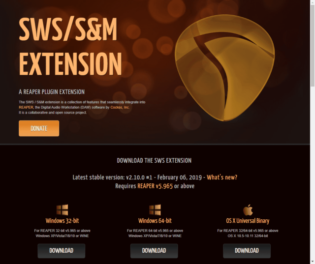 SWS/S&M EXTENSION