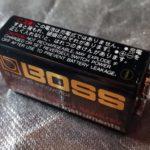 BOSSブランドの9Vバッテリー@1985年